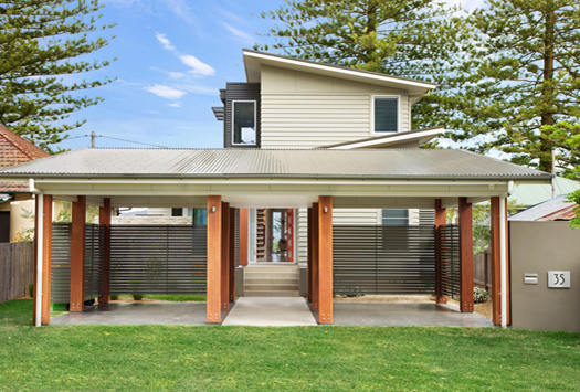 Patonga featured projects pole home centre pty ltd for Pole home designs nsw